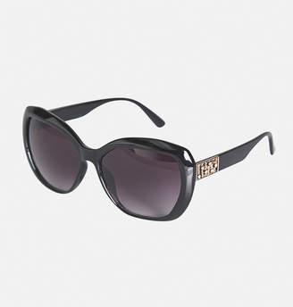 Avenue Wavy Rhinestone Sunglasses