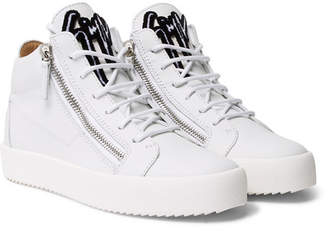 Giuseppe Zanotti Kriss Leather High-Top Sneakers