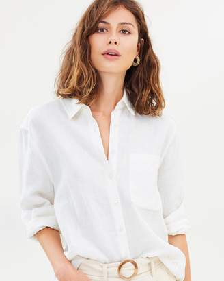 Fleur Premium Linen Shirt