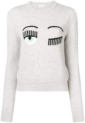 Chiara Ferragni Blinking Eye sweater
