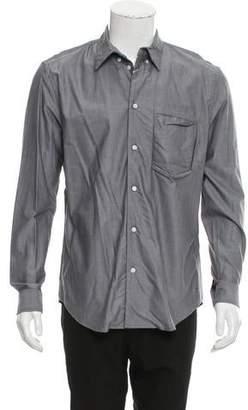 Julien David Woven Button-Up Shirt w/ Tags