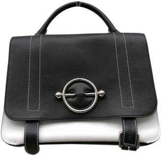 J.W.Anderson Disc Black Leather Handbag