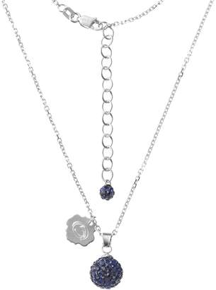Kohl's Penn State Nittany Lions Crystal Sterling Silver Team Logo & Ball Pendant Necklace