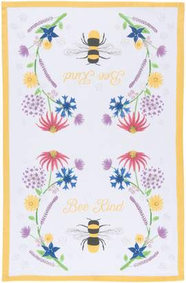 Now Designs Bee Kind Cotton Dishtowel