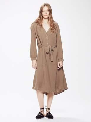 Xirena XiRENA Evynn Chelsea Gauze Dress - Driftwood