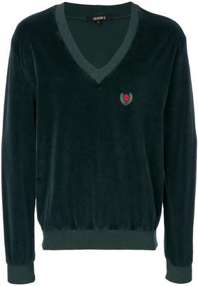 Yeezy V-neck sweatshirt