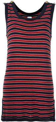 Moschino Pre-Owned striped tank dress