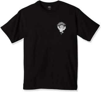 Obey Men's Cult of Dark Smoke Crew Neck Regular Fit T-Shirt