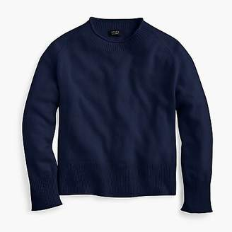 J.Crew Everyday cashmere ribbed neck sweater