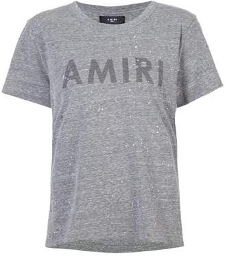 Amiri painted logo T-shirt