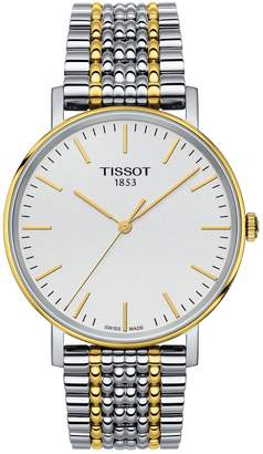 Tissot Analog T Classic Two-Tone Bracelet Watch
