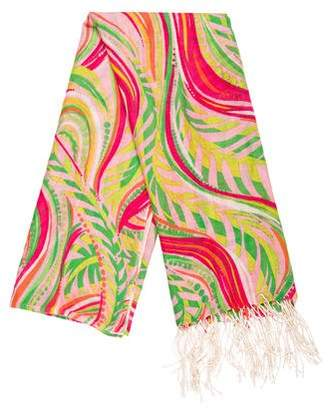 Lilly Pulitzer Silk & Cashmere Printed Scarf