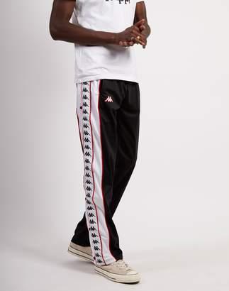 Kappa Banda Big Bay Pants Black, White & Red