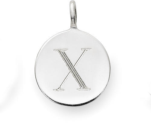 Sarah Chloe Sterling Silver Engraved X Add On