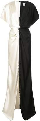 Prabal Gurung Twist Front gown