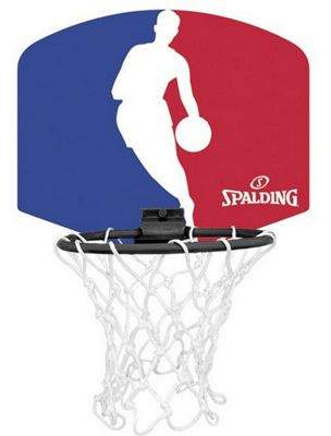Spalding Nba Micro Mini Basketball Ring, Net & Ball Set 29cm W x 29cm H