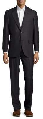 BrioniWool Tonal Pinstripe Suit
