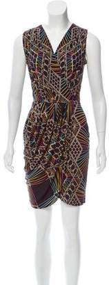 Mara Hoffman Silk Sleeveless Printed Dress