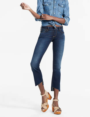 Lucky Brand LOLITA MID RISE CROPPED BOOTCUT JEAN WITH ASYMMETRICAL STEP
