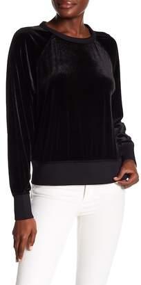 Rag & Bone Raglan Sleeve Velvet Pullover