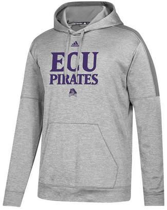 adidas Men East Carolina Pirates Team Issue Fleece Hoodie