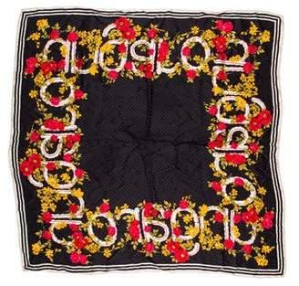 Ungaro Paris Silk Printed Scarf