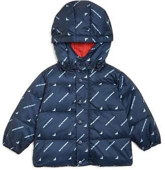 Giorgio Armani Boys' Hooded Puffer Jacket - Baby