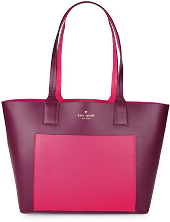 Kate SpadeKate Spade New York Double-Faced Pebbled Leather Tote
