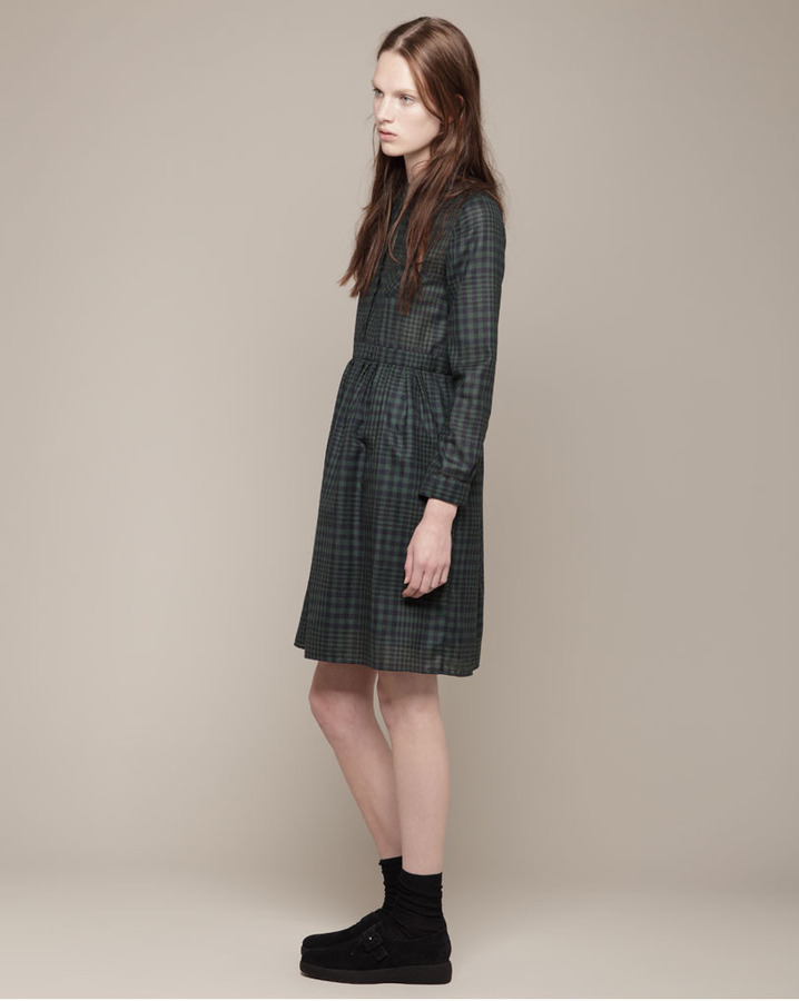 Boy By Band Of Outsiders baby doll plaid dress