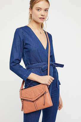 Violet Ray Charlie Woven Crossbody