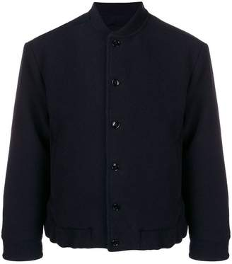 Piombo Mp Massimo buttoned bomber jacket