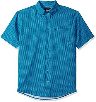 Cinch Men's Arenaflex Short Sleeve Button Print Shirt