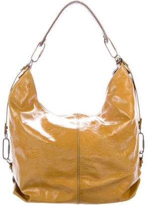 Lanvin Distressed Leather Hobo