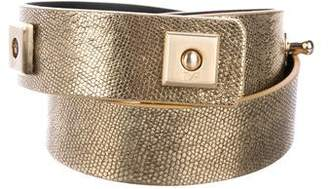 Diane von Furstenberg Leather Waist Belt