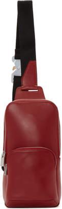 Alyx Red Leather Crossbody Bag