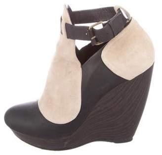 Balenciaga Platform Wedge Boots