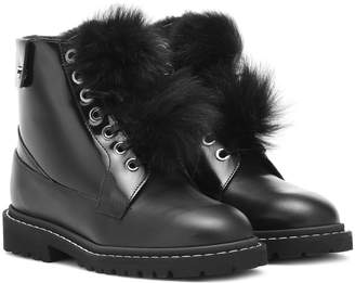 Jimmy Choo The Voyager Snow Flat ankle boots