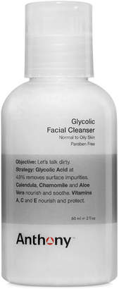 Anthony Logistics For Men Glycolic Facial Cleanser, 2 oz