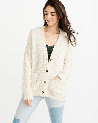 Abercrombie & Fitch Boucle Cardigan