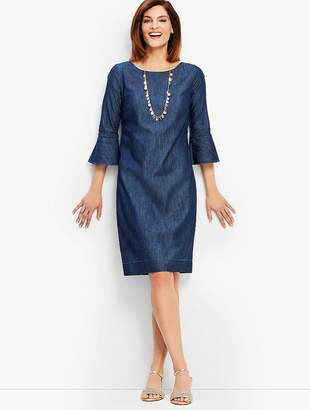 Talbots Denim Shift Dress