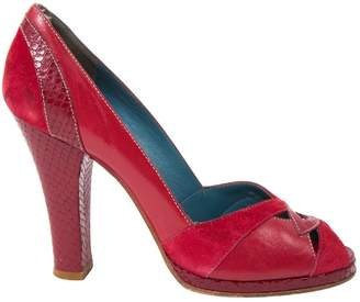 Marc Jacobs Red Leather Heels
