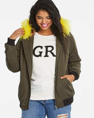 Fashion World Khaki Bomber