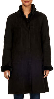 Gorski Tiffany Reversible Lamb Shearling Coat
