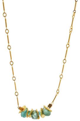Lori Kaplan Jewelry 14k Gold Signature Petite Necklace