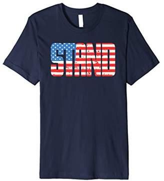 STAND - Minimalist Patriot Tee Shirt