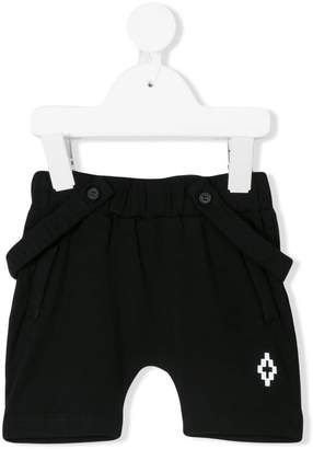 Marcelo Burlon County of Milan Kids detachable brace shorts