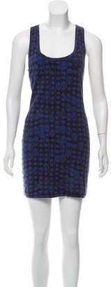Elizabeth and James Sleeveless Printed Mini Dress