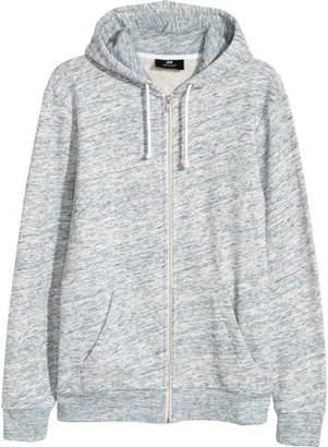 H&M Hooded Jacket Regular fit - Blue