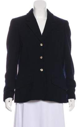Chanel Wool Notch-Lapel Blazer