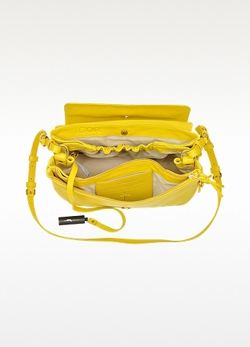Jerome Dreyfuss Igor Yellow Shoulder Bag